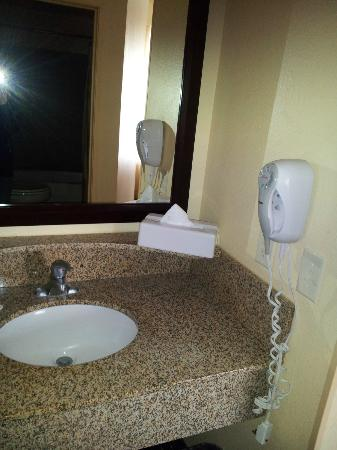 SpringHill Suites Cedar City: Sink with Hair Dryer
