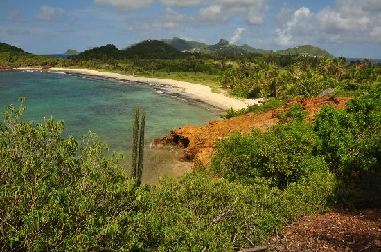 Palm Island Resort & Spa - All Inclusive: Palm Island from the Lookout Point