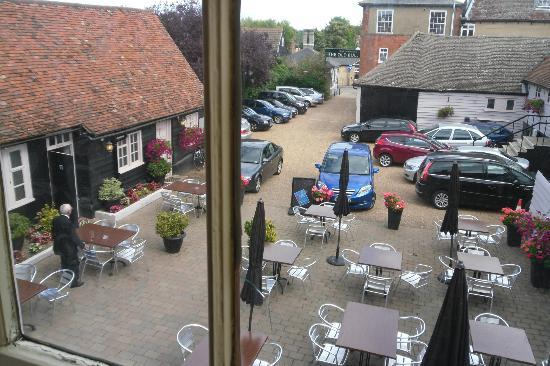 Old Bull Inn : view from our room