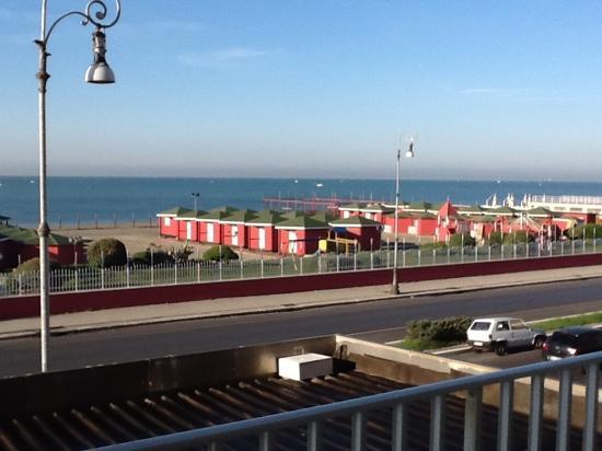 Hotel Sirenetta: Vista dal terrazzo della stanza