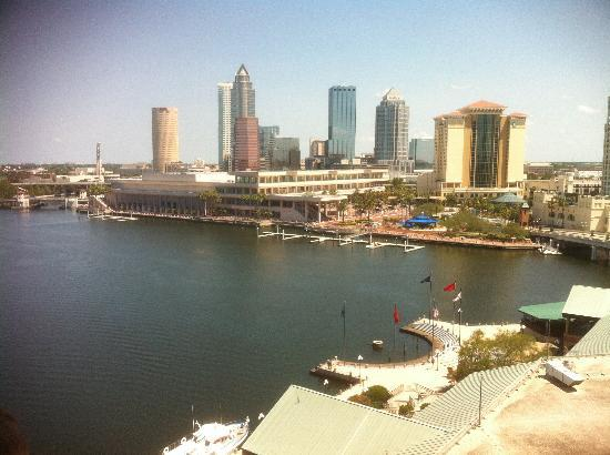 Westin Tampa Harbour Island: Harbor view from the room