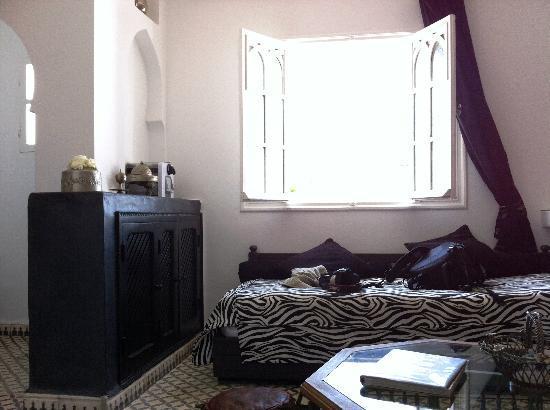 Riad Malaika: Suite lounge