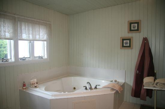 Tara - A Country Inn: The Jacuzzi in the Lilac Room's private sunroom