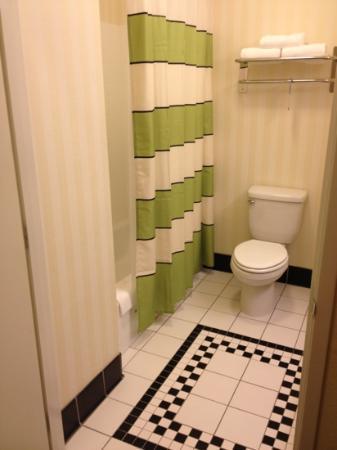 Fairfield Inn & Suites Visalia Tulare: Bathroom