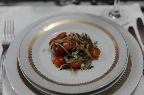 L Mansion Marrakech: One of the delicious organic salads!
