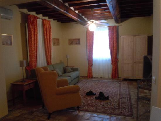 Hotel Villa Volpi: Private Villa Livingroom