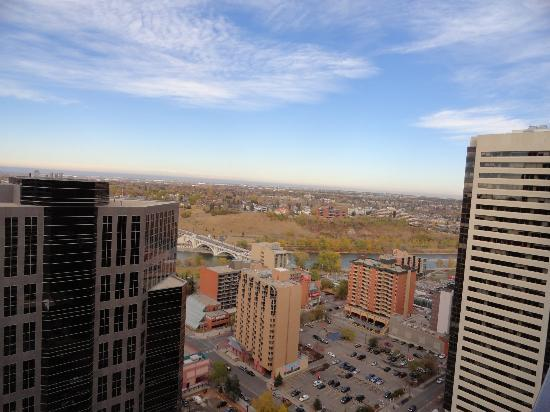 International Hotel Calgary: View from the 34th floor