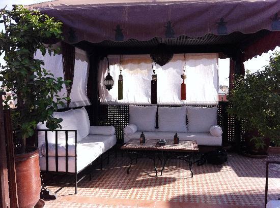 Riad Andalla: Terrace