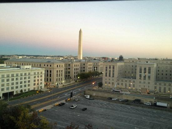 Mandarin Oriental, Washington DC: view from my room