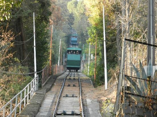 Cerro San Cristobal: La subida se facilita con el Funicular