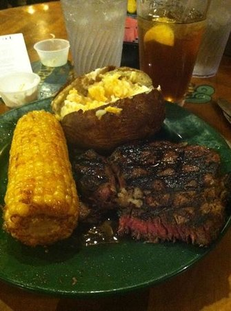 Beaches Cafe & Bakery:                   great Angus rib eye steak.....