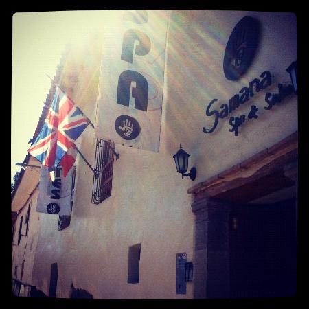 Samana Inn and Spa: Puerta