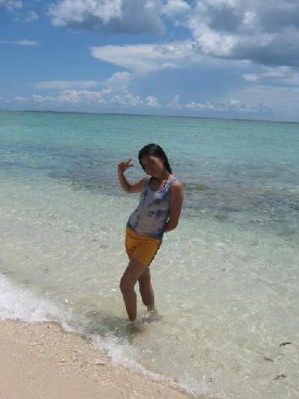 Canigao Island: so clear water
