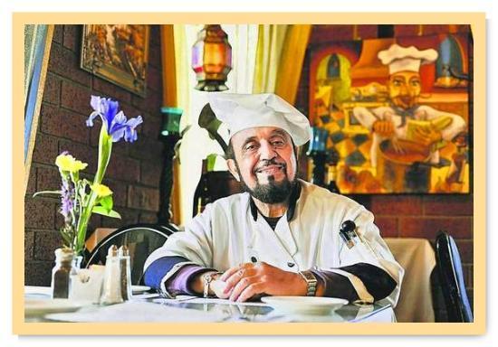 Chef Maurice welcomes you to Naan & Kabab