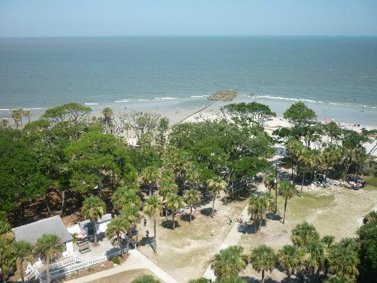 Hunting Island State Park View From The Lighthouse
