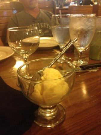Thai Mango : ice cream