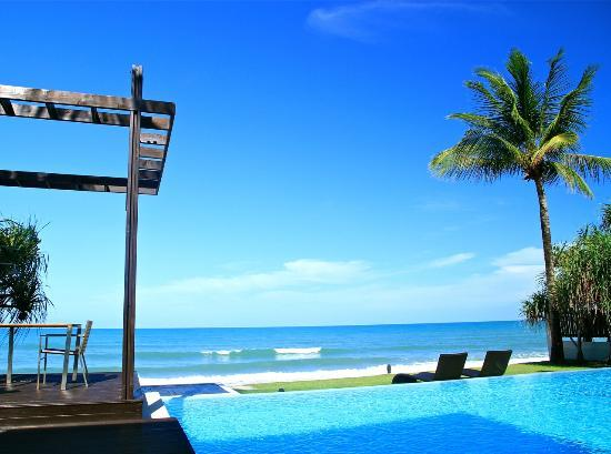 Aleenta Phuket Resort & Spa: Beach front villa - View from the room