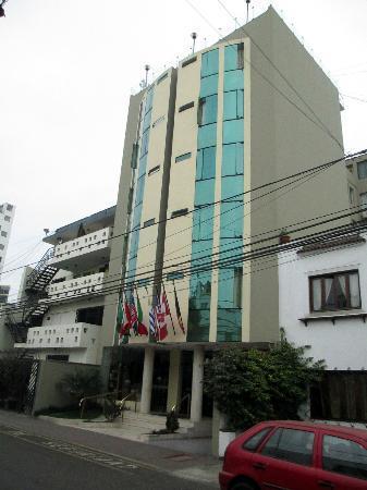 Embajadores Hotel: Hotel