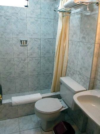 Embajadores Hotel: Bathroom
