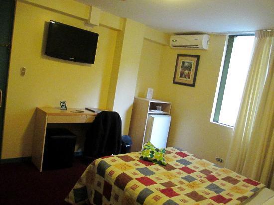 Embajadores Hotel: Room