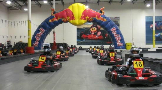 Fast Lap Indoor Kart Racing: Getting ready to race!
