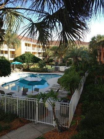 Courtyard by Marriott Orlando Lake Buena Vista at Vista Centre: Small Pool