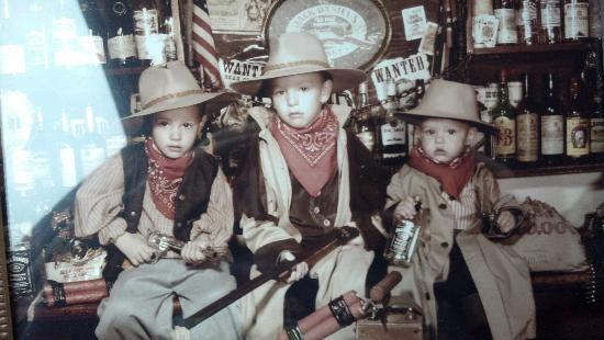 Antique Images: the outlaws...