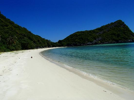 Boutique Yachting - Day Cruises & Private Charters: Private Beach we swam at