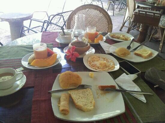 Nooit Gedacht Heritage Hotel: breakfast