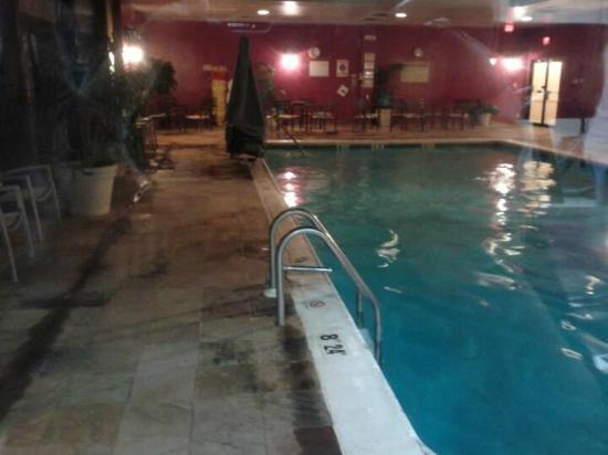 Ramada Plaza & Conf Center by Wyndham Cranbury/S Brunswick: Heated indoor pool 