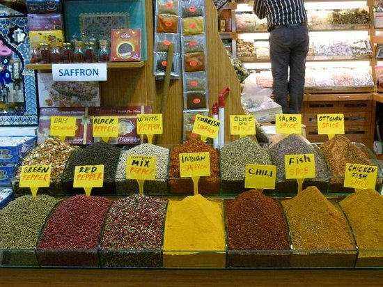 ‪‪Turkey Travel Group‬: Spices galore!‬