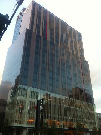 The Okura Prestige Taipei: The hotel building