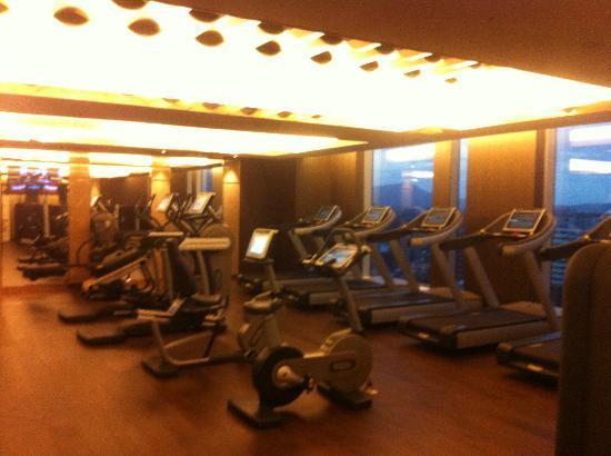 The Okura Prestige Taipei: The gym area