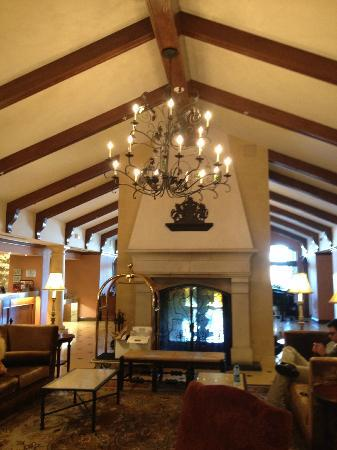 Vino Bello Resort: reception and check-in at Meritage/Vino Bello