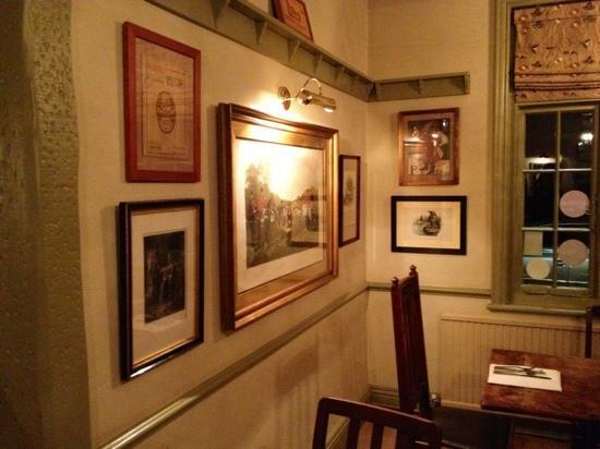 The Bull Inn: Oldworld charm dining room