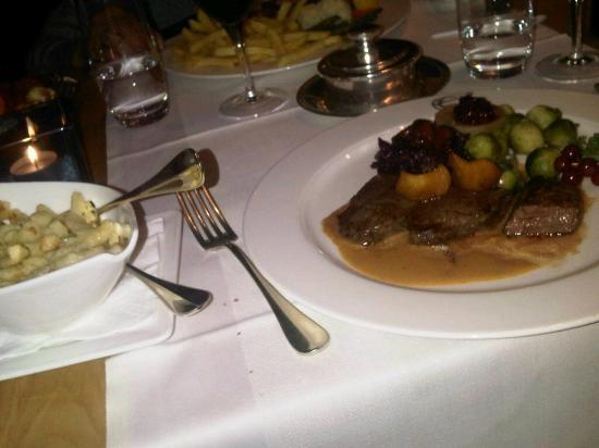Glockenhof Zürich: Supper! Mmmm.