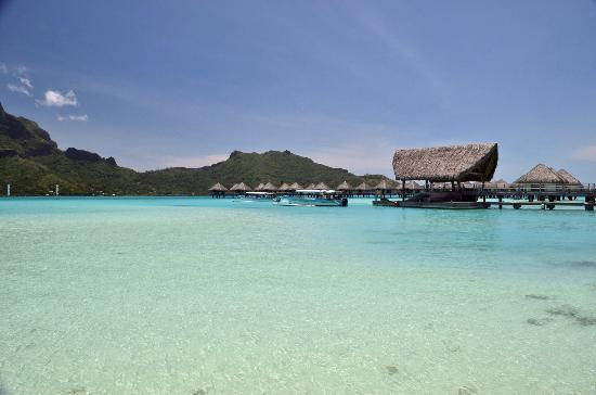 Le Meridien Bora Bora: Beach front