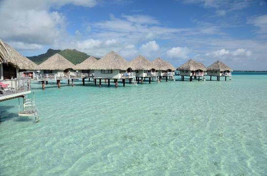 Le Meridien Bora Bora: View from the balcony