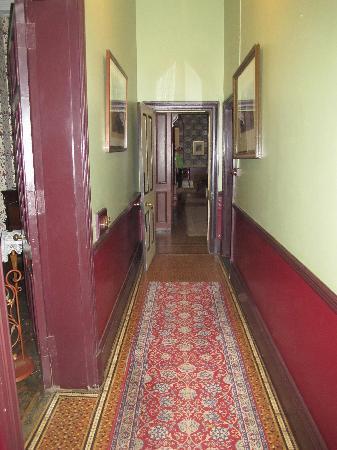 Melrose House: hallway