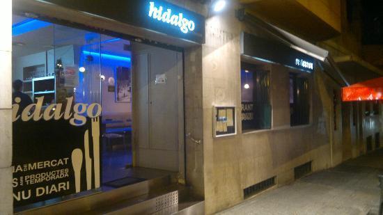 Restaurante Hidalgo: Entrada