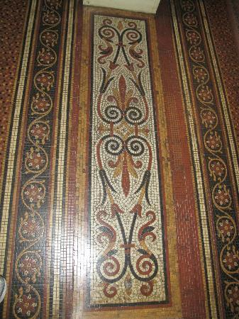 Melrose House: floor tiles