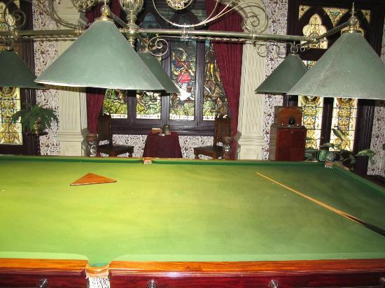 Melrose House: billiards room