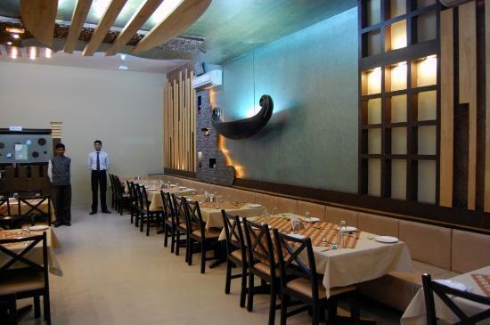 Spicy Kitchen Restaurant: Indoor dinning area
