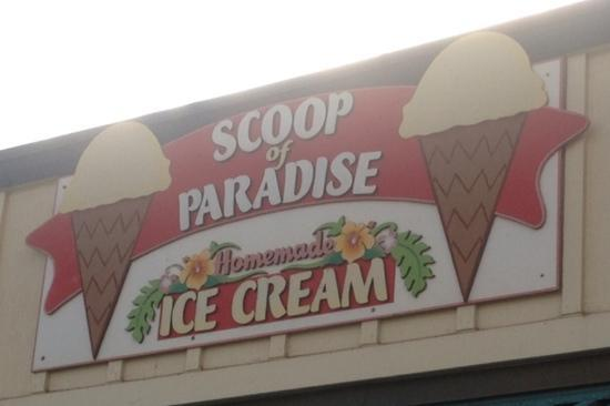 Scoop of Paradise: The front!