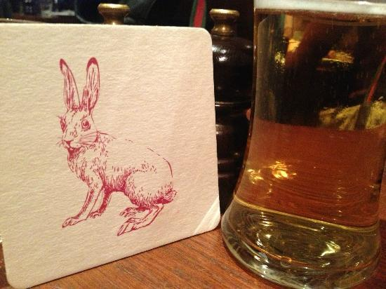 The Cadogan Arms : Terrific Coaster Art