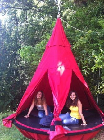 Happy Forest: Toiles de tentes suspendues pour nuit insolite