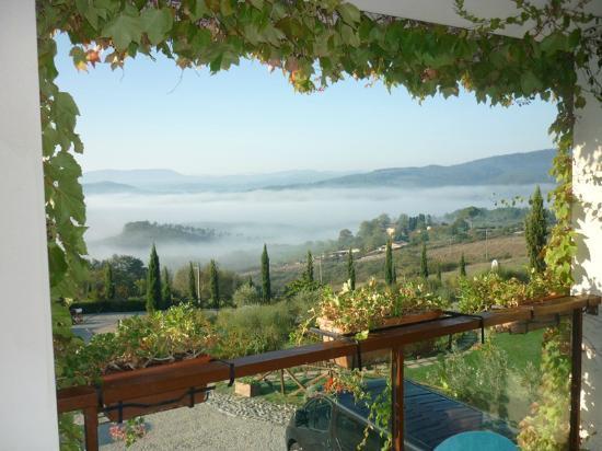 Relax Hotel Aquaviva: Vista dal balcone dalla camera.