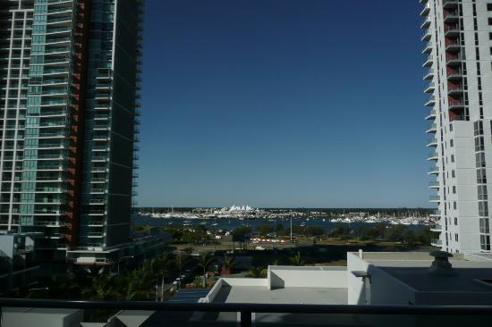 Meriton Serviced Apartments Aqua Street, Southport: Nice view from the ninth room