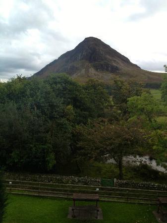 Kirkstile Inn: View from our room - room 6