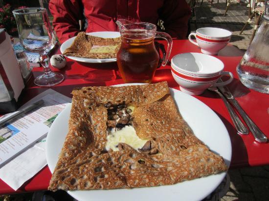Restaurant Creperie La Musardiere: galette
